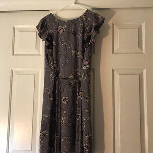 NWT Purple flower dress